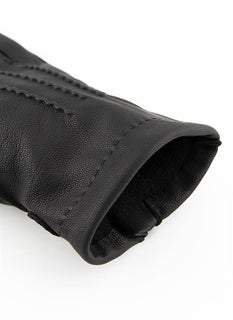 Men's Handsewn Wool Lined Water Resistant Goatskin Gloves