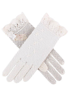 Women's Cotton Crochet Gloves