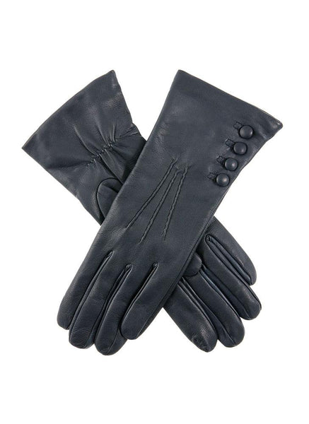 Women's Cashmere Lined Leather Gloves