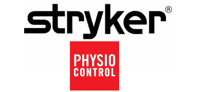 physio control and stryker logo