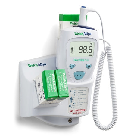 Welch Allyn SureTemp Plus 690 Wall-Mount Electronic Thermometer