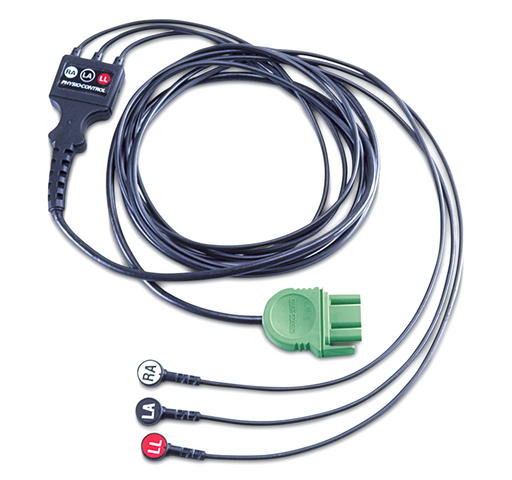 Physio Control 3-Lead ECG Cable for LIFEPAK 1000 AED (NEW)