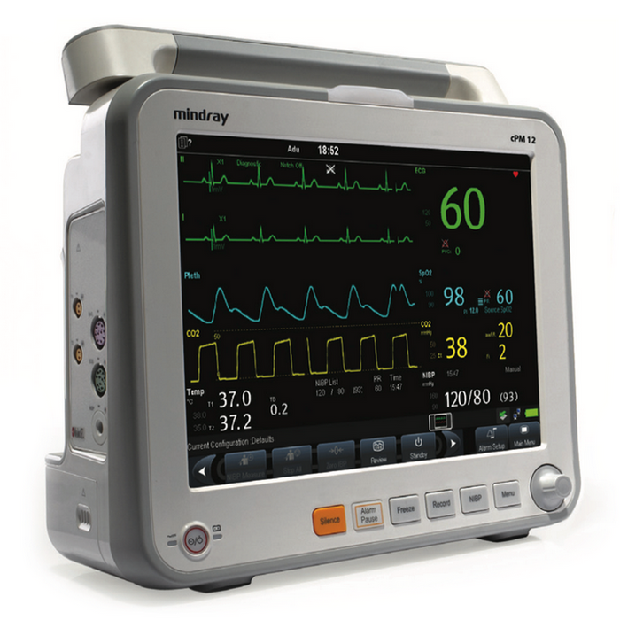 Mindray cPM 12 Patient Multigas Monitor with Invasive Pressure + Cardiac Output Module (NEW)