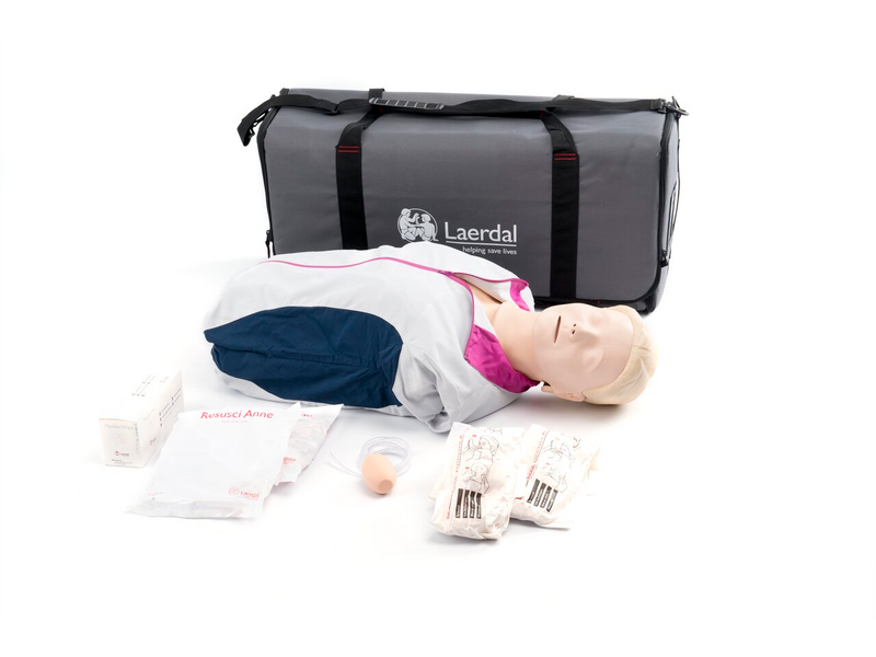 Resusci Anne First Aid with carry bag - Laerdal 170-00150