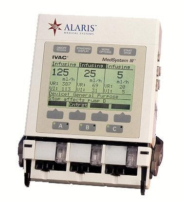 Alaris MedSystem III 2865b IV Infusion Pump (Refurbished)