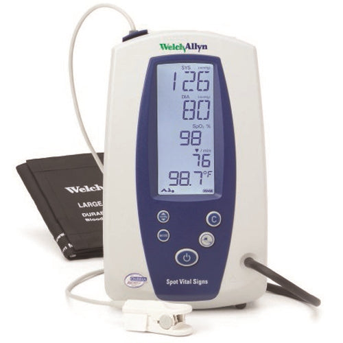 Welch Allyn Spot Vital Signs Monitor - NIBP, Nellcor SpO2, Pulse Rate and MAP (Refurbished)