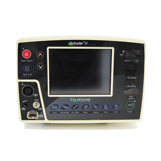 Criticare Scholar III 507 EL Patient Monitor (Refurbished)