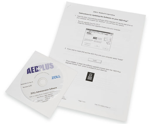 Zoll Administration Software CD for AED Plus