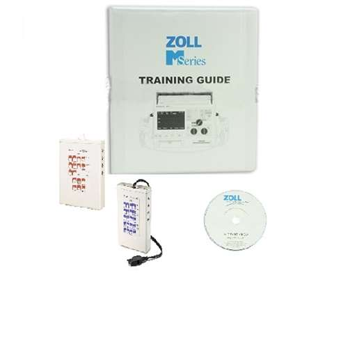 Zoll 8000-0663-01 M Series Defibrillator Training Resource Kit, includes Resource Manual, Training CD, In-Service video, Parameters Video and 2 ECG Simulators