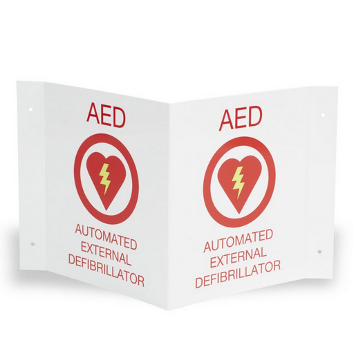Zoll AED Wall Sign Kit