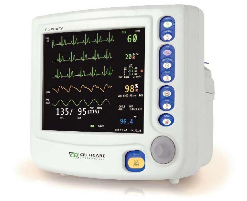 Criticare nGenuity 8100EP Patient Monitor (Refurbished)