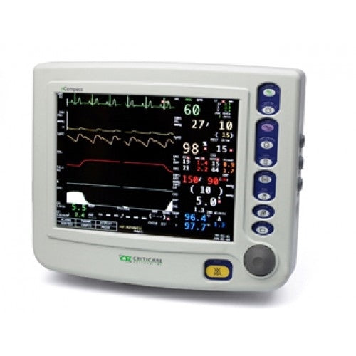 Criticare 8100H nCompass Patient Monitor w/ Printer (Refurbished)