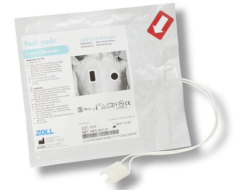 Zoll Pedi-Padz Solid Gel Multi-Function Electrode, Single
