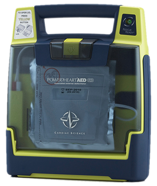 Cardiac Science Powerheart AED G3 Plus, Semi Auto (NEW)