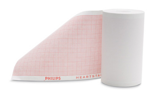 Philips HeartStart 75mm Chemical Thermal Paper (10 Rolls), for MRx Monitor/Defibrillator