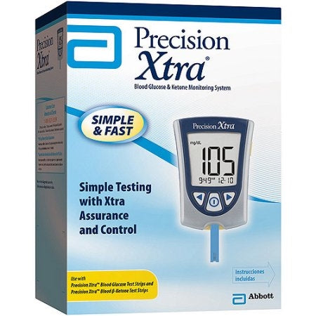 Abbott Precision Xtra Blood Glucose and Ketone Monitoring System Precision Xtra Meter (NEW)