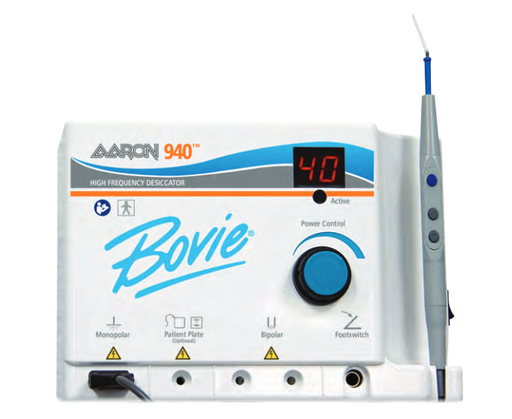 Aaron Bovie 940 High Frequency Desiccator w/ Power Control Handpiece (New)