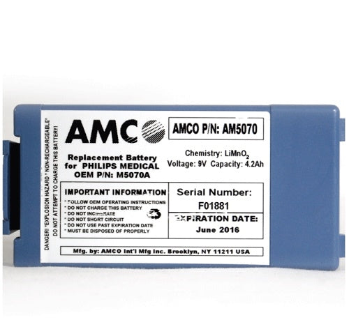 Replacement Battery for Philips HeartStart Onsite and FRX AED