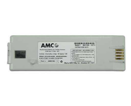 AMCO Beige Replacement Battery for Cardiac Science PowerHeart G3 AED