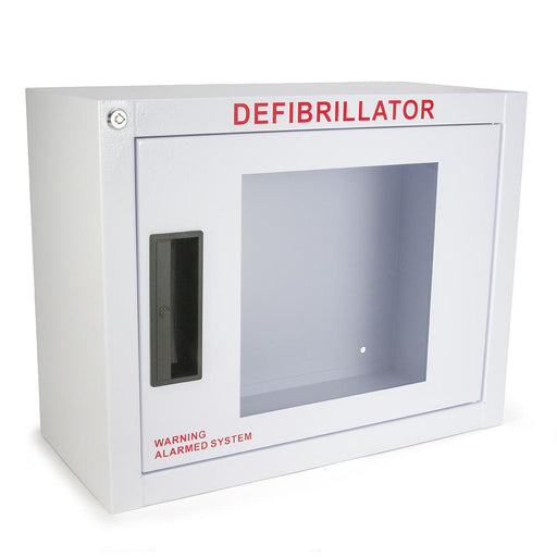 Compact AED Wall Cabinet (w/ keyed alarm) - Generic AED AMP14SQ-A