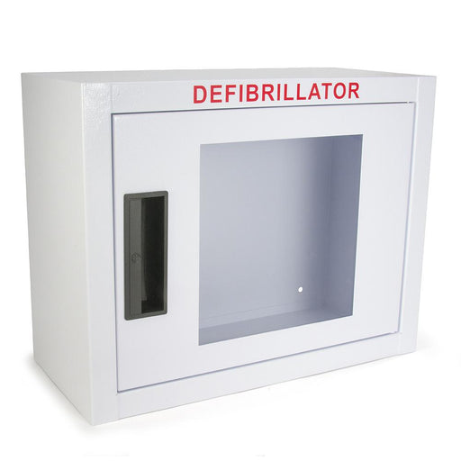 Compact AED Wall Cabinet - No Alarm - Generic AED AMP14SQ-B