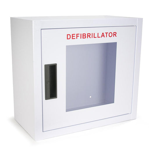 Large AED Wall Cabinet - No Alarm - Generic AED AMP16SQ-B