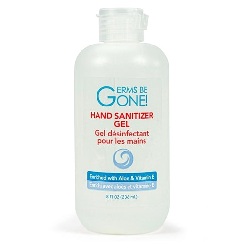 """Germs Be Gone"" Antiseptic Hand Sanitizer - case of 24 bottles"