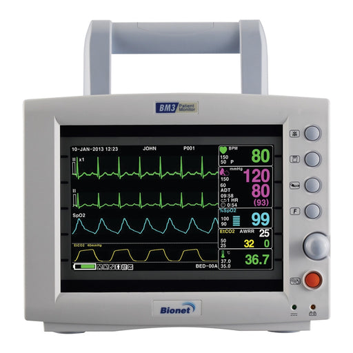 Bionet BM3 Multi-Parameter Vital Signs Monitor (NEW)