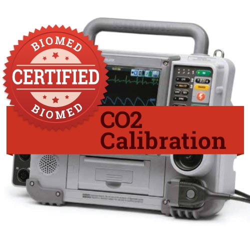 CO2 Calibration for Any Monitor or Defibrillator with CO2
