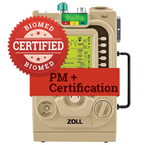 Preventative Maintenance for Zoll AEV and EMV Ventilators
