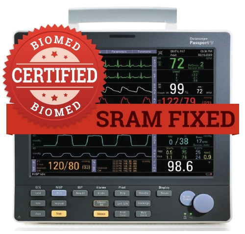 SRAM / Clock Chip Repair for Patient Monitor