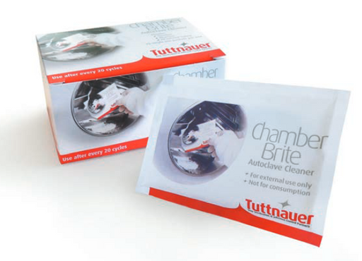 Tuttnauer Chamber Brite AutoClave Cleaner (1 Box = 10 Packets)