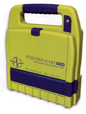 Cardiac Science Powerheart G3 9200RD AED (Refurbished)