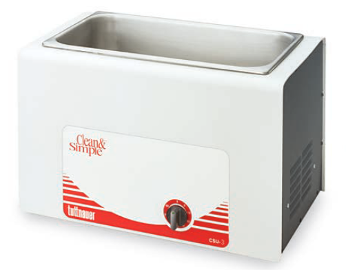 Tuttnauer Three Gallon Clean and Simple Ultrasonic Cleaner with Heater