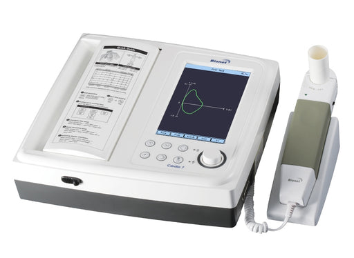 Bionet Cardio7-S ECG Machine and SPM-300 Spirometer Combo Unit (NEW)
