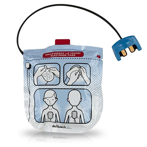Defibtech Pediatric Defibrillation Pads For Lifeline VIEW, ECG, PRO