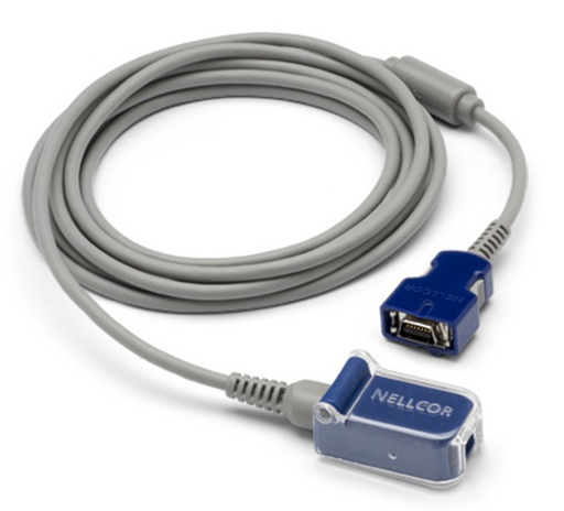 Nellcor DOC-10 Pulse Oximetry Cable Extension - 10ft (NEW)