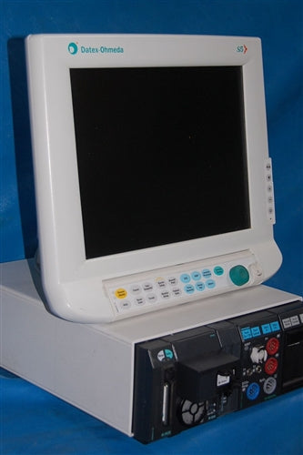 Datex Ohmeda (GE) S5 Anesthesia Monitor, Flat Screen w/ M Series Modules (Refurbished)