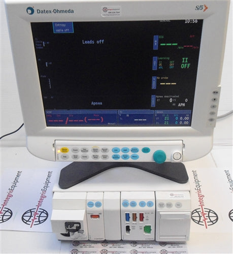 Datex Ohmeda (GE) S5 Anesthesia Monitor, Flat Screen w/ E Series Modules (Refurbished)
