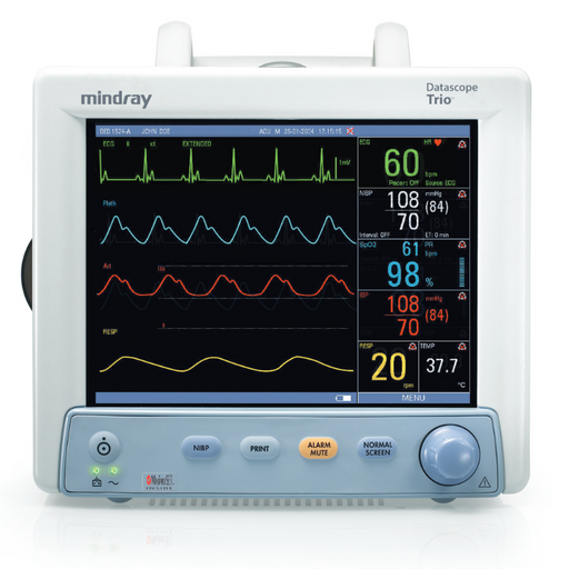 Mindray Datascope Trio Compact Portable Bedside Patient Monitor (Refurbished)