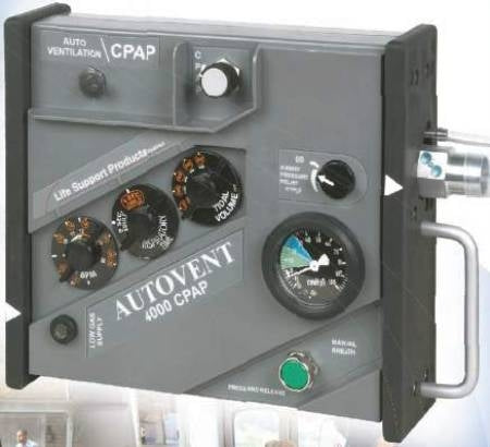 Allied AutoVent 4000 Transport Ventilator