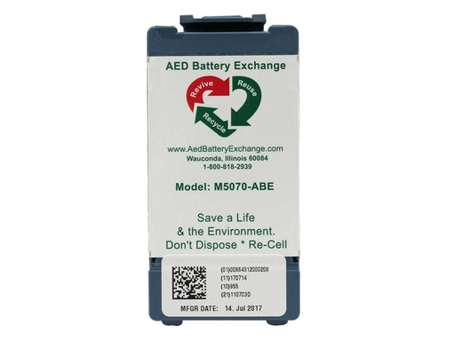AED Battery Exchange Philips HeartStart Onsite and FRX M5070A Battery