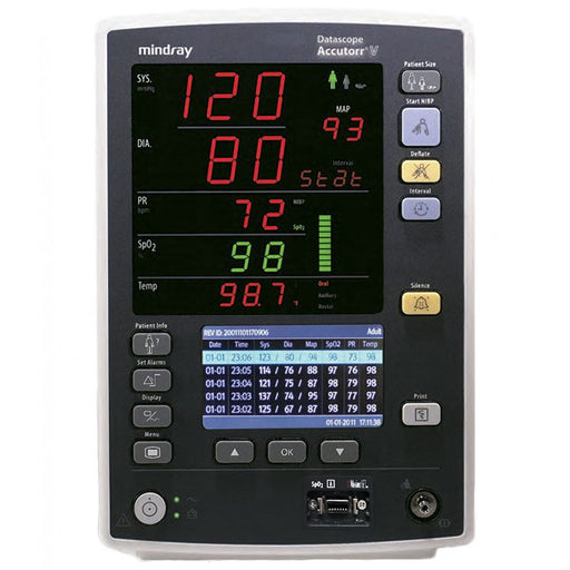 Mindray Accutorr V Vital Signs Monitor (Refurbished)