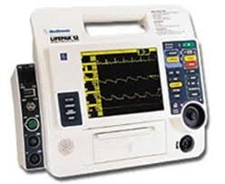 Physio Control LIFEPAK 12 Defibrillator Biphasic, 12 Lead, AED, Pacing, SP02, NIBP, ETC02, EL Screen (Refurbished)