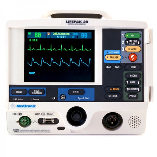 Physio Control LIFEPAK 20 Defibrillator and Monitor (Refurbished)