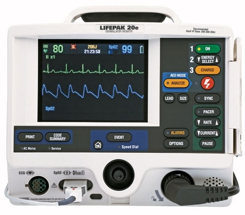 Physio Control LifePak 20e Defibrillator Monitor (Refurbished)