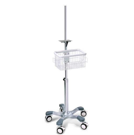 Pole / Clamp Mount Rolling Stand for Accutorr Plus, GE Dinamap Monitors, Infusion Pumps +MORE! (NEW)