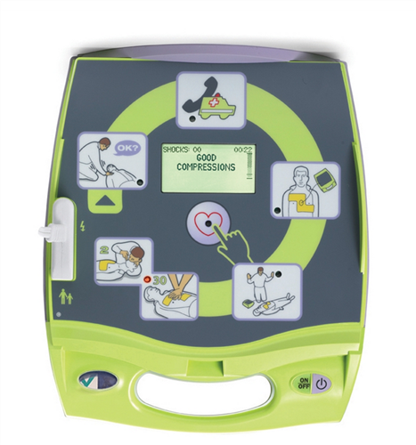 Zoll AED Plus w/ CPR-D Padz (Refurbished)