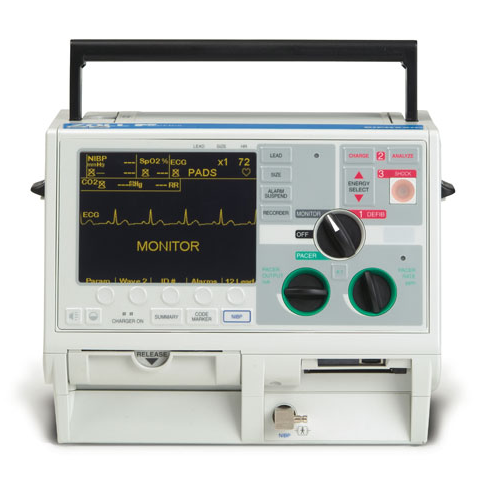 Zoll M Series Defibrillator - Biphasic, 12-Lead, Pacing, AED, SpO2, NiBP, EtCO2 (Refurbished)
