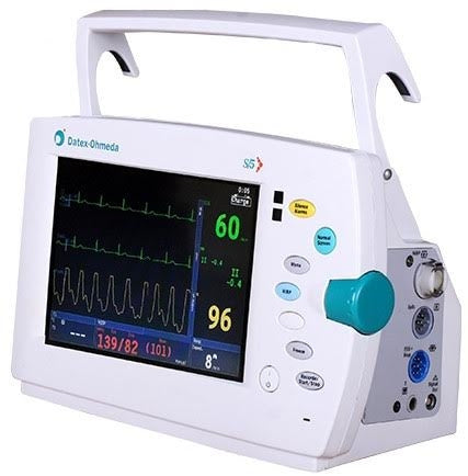 Datex Ohmeda (GE) S/5 Light Patient Monitor, Color Screen (Refurbished)